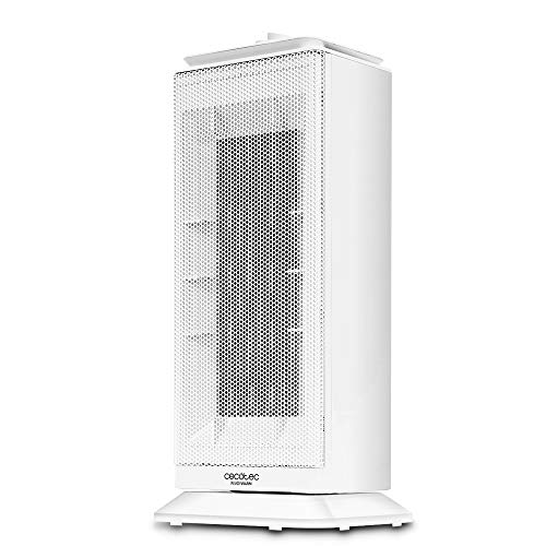 Cecotec Calefactor Cerámico Ready Warm 6200 Ceramic Sky. Oscilante, 3 Modos, Termostato Regulable...