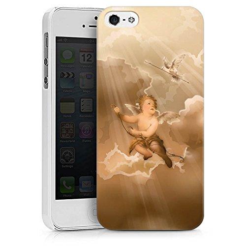Apple iPhone X Silikon Hülle Case Schutzhülle Liebe Engel Amor Hard Case weiß