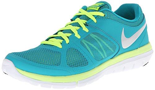 Nike Wmns Flex 2014 Rn, Chaussures de Running Entrainement Femme Vert