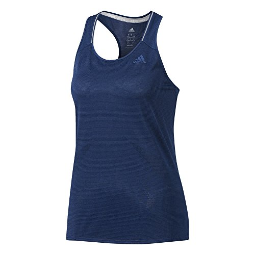 Adidas s97952, canottiera sportiva donna, blu (mysblu), large (taglia produttore:l)