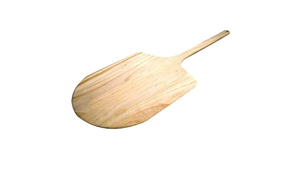 """Pizza Peel Wood 12/""""Wx13/"""" Blade 36/"""" Overall Length"""