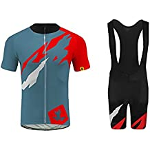 BurningBikewear Uglyfrog Ciclismo Jersey Team Ciclismo Ropa Jersey Bib Shorts Kit Camisa de Secado rápido Ropa