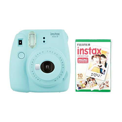 Instax Mini 9 Instant Camera - Ice Blue - Currys
