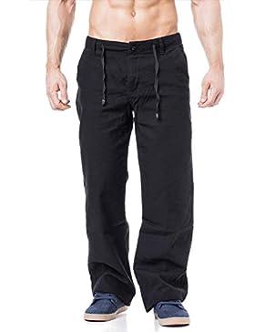 Leinenhose Freizeithose in schwarz oder weiss erhältlich