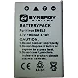 Nikon Coolpix P510 Digital Camera Battery (1100 MAh) - Replacement For Nikon EN-EL5