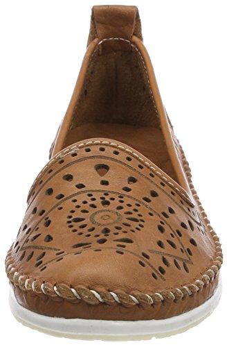 Andrea Conti Damen 0023414 Slipper Braun (Cognac)