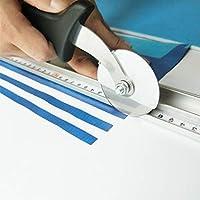 UII Cortador de papel rotativo, cocina, cortador de cartón publicitario, cortador de tela de cuero, cortador de tablero de espuma, cortador de tablero de PVC (1 fuego)