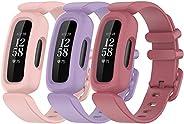 أحزمة ساعة ذكية بديلة متوافقة مع ساعة Fitbit Ace 3 الذكية ، سوار معصم من السيليكون الناعم للأطفال من Fitbit Ac