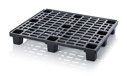 Preisvergleich Produktbild 10x Leichtpalette 120x100 Kunststoffpalette inkl. gratis Zollstock * 10er Set