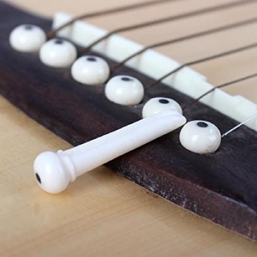 Imagen de profesional dot durable portátil repuesto de plástico pin cuerda end peg para puente de  acústica alternativa