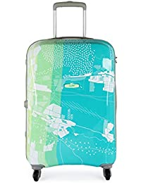 VIP Skybags Escape Polycarbonate 67 cm Green Hard Sided Carry-on Bag