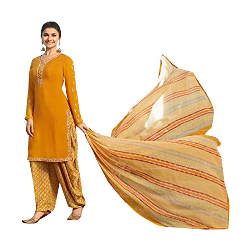 ETHNIC EMPORIUM Indische Bollywood Punjabi Salwar Shalwar Patiyala Patiala Hosen Traditionelle Salwar Kameez Kamiz Frauen Kleid Damen Girl hochzet 7489 Patiala Suit