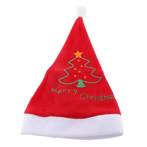 Erwachsene Unisex Plüsch Flauschigen Weihnachten Weihnachten Neuheit Hut, Mütze Sankt Partei Zu Tragen