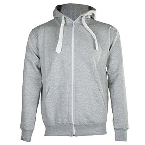 Generic - Sweat-shirt à capuche - Homme Gris Gris argenté