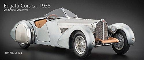 Cmc Modellauto Bugatti 57 SC Corsica Roadster, 1938 unlackiert