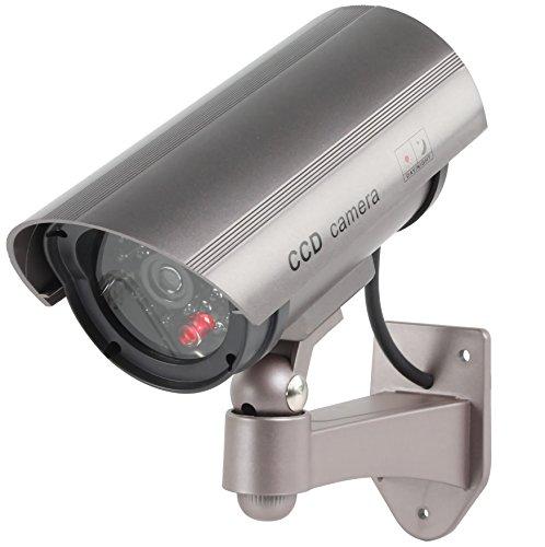 Konig sec dummycam30 telecamera finta cctv con led lampeggiante ir (finto). media wave store ®