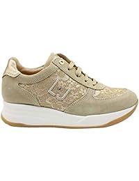 d72249406f864 Liu Jo Girl L4A4 20379 0493X105 Beige Sneakers Scarpe Donna Calzature Comode