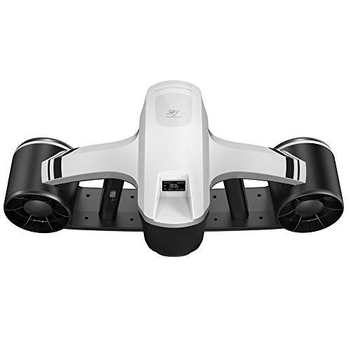 RoboSea Scooter Elettrico subacqueo Seaflyer 1.0 Bianco 45 Metri profondità 2 velocità 60 min Funzionamento 64116114