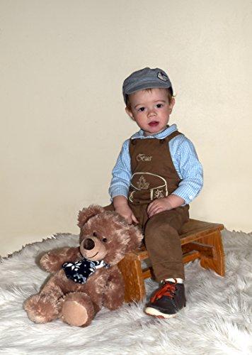BLH Babylederhose LANG und KURZ (aus Baumwolle, in Lederhosenoptik) von Mogo.cc Sonderedition