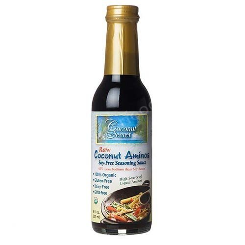 Coconut Secret Coconut Aminos Soy-Free Seasoning Sauce — 8 Fl Oz