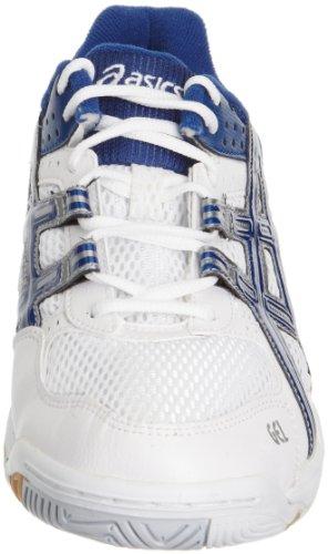 Asics Herren Hallenschuhe White/Jet Blue/Lightning