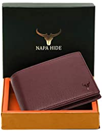 Napa Hide RFID Protected Genuine High Quality Leather Wallet for Men