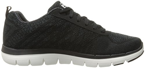 Skechers - Flex Advantage 2.0 Golden Point, Scarpe da ginnastica Uomo Nero (BKW)