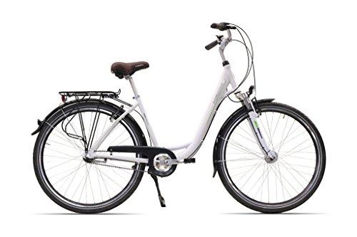 Hawk City 3-G Fahrrad, Wave White, 26 Zoll