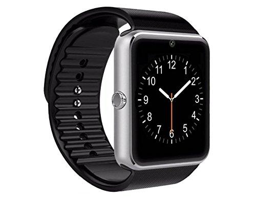 HEGG - Smartwatches (Silber + Schwarz) (Silber)