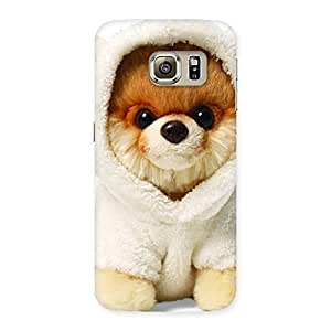 Ajay Enterprises Advance Boo Dog Back Case Cover for Samsung Galaxy S6 Edge