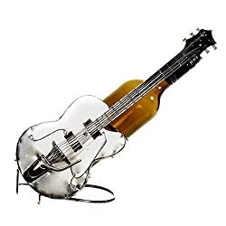 Wine Bottle Holder Wine Guitar Music