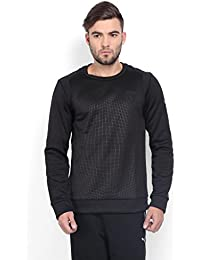 Puma Men's Round Neck Cotton Sweatshirt