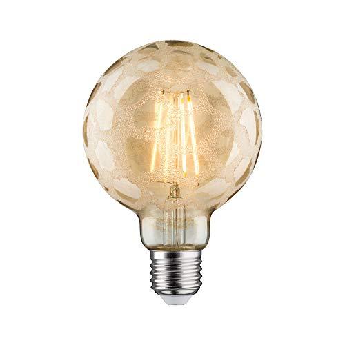 Paulmann 284.88 LED Globe Ø95mm 6W E27 Krokoeis Gold Warmweiß dimmbar 28488 Leuchtmittel Lampe (Lampe Gold Globe)