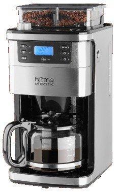 Home Electric Kaffeemaschine mit Mahlwerk MD 15486