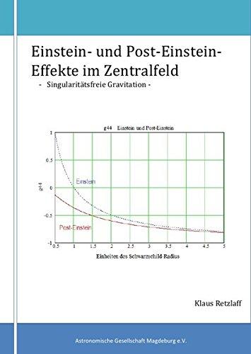 Einstein- und Post-Einstein-Effekte im Zentralfeld: Singularitätsfreie Gravitation