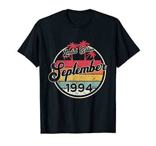 Vintage 80s September 1994 Shirt 25. Geburtstags Geschenk T-Shirt -