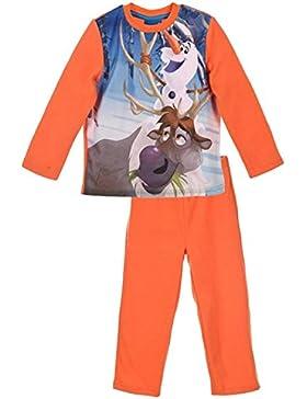 Kinder Lizenzierte Disney Gefrorenes (Frozen) Olaf Kristoff Sven Micro Polar Fleece Winter Pyjamas.