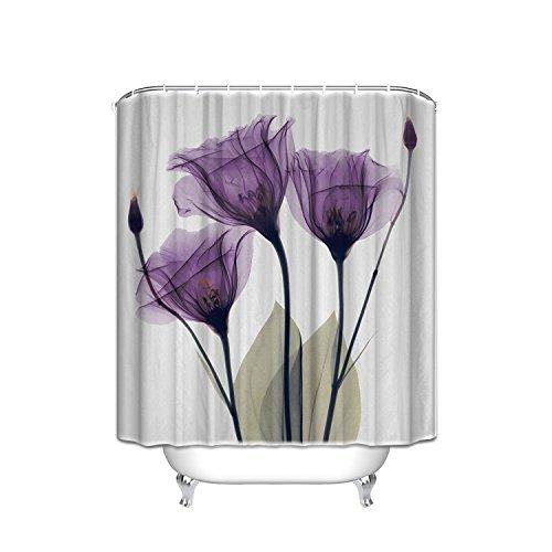 vendel Hope Vorhang für die Dusche 48 X 72 inch Violett/Weiß ()