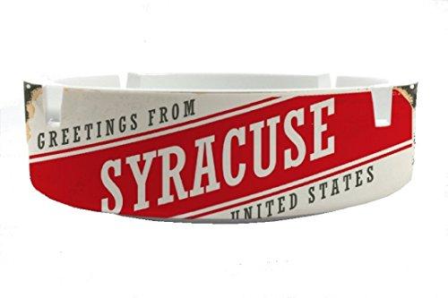Aschenbecher Rund Retro Metropole Syracuse USA Ascher