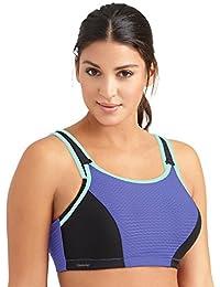 Glamorise Damen Dirndl Sport-Bh mit Verstellbaren Bügeln