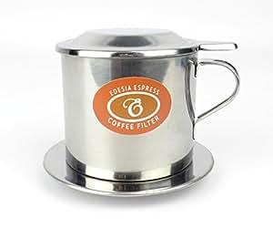 EDESIA ESPRESS - Filtro a vite per caffè vietnamita in acciaio inox - misura 7