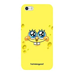 HomeSoGood Tears Of Happiness Yellow 3D Mobile Case For iPhone 5 / 5S (Back Cover)