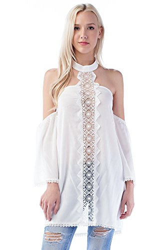 Solitaire High Neck Swim Cover-up (Small) -