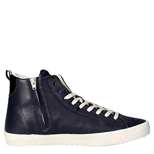 D.a.t.e. HILL HIGH-14 Sneakers Uomo Blu