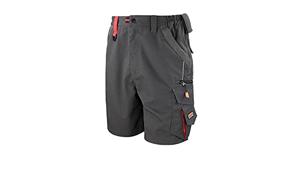 Result Workguard Technical Work Shorts R311X Multi Pockets /& Windproof
