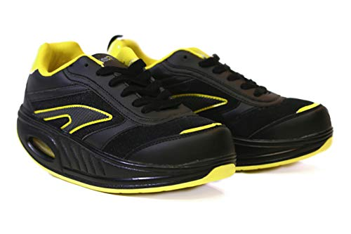 Fitness Step Black/Yellow (39)