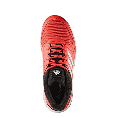 adidas Jungen Essence Handballschuhe Rot (Solar Red/Footwear White/Core Black)