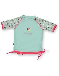 Ensemble T-Shirt Maillot et Culotte Anti-UV - Bébé et Enfant - Ice Cream - Manches Courtes - Elly La Fripouille