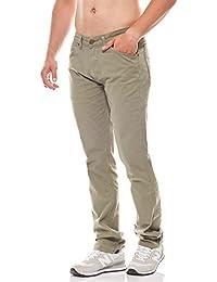 Wrangler Hose Herren Freizeithose Stoffhose Modern Regular Greensboro Grün