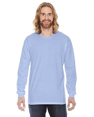 American Apparel Fine Jersey Long Sleeve T-Shirt - Baby Blue / XL (US)
